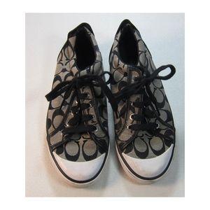Coach Barrett Signature Fashion Sneakers Size 7B